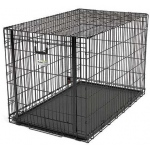 "Midwest Homes for Pets Ovation Single Door Crate with Up & Away Door: 37.25"" x 23"" x 24.75"""