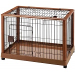 "Richell Mobile Pet Pen 940 Medium Autumn Matte 36.8"" x 24.2"" x 26"""