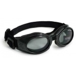 Doggles Originalz Dog Sunglasses Large Black / Smoke