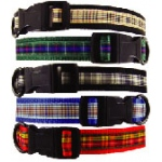 Color Pet™ Casey & Eddy Natural/Black Collar: Small