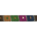 Color Pet™ Maya Custom Personalized Checker Leash: Small