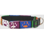 Color Pet™ Maya Custom Personalized Paw Collar: Small
