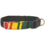 Color Pet™ Maya Custom Personalized Rasta Collar: Large