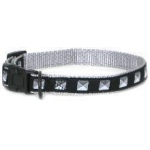 Color Pet™ Eli & Elouise Studs Collar: Small