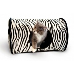 "K&H Pet Products Kitty Camper: Zebra, 13"" x 18"" x 10"""