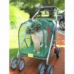 "Kittywalk Emerald Stroller SUV: 31"" x 16"" x 20"""