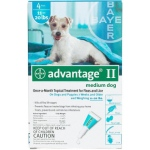 Advantage Flea Control for Dogs And Puppies: 11-20 Pound, 4 Month Supply