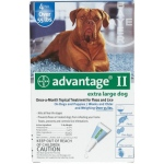 Advantage Flea Control for Dogs And Puppies: Over 55 Pound, 4 Month Supply