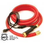 "K&H Pet Products Thermo-Hose Rubber  Small Red 240"" x 1.5"" x 1.5"""
