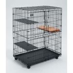 "MidWest Homes for Pets Collapsible Cat Playpen: 35.75"" x 23.5"" x 51"""