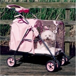 "Kittywalk 5th Ave Pet Stroller SUV Pink 31"" x 16"" x 37.5"""