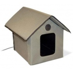 "K&H Pet Products Outdoor Kitty House: Heated, 22"" x 18"" x 17"""