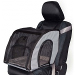 "K&H Pet Products Pet Travel Safety Carrier Small Gray 17"" x 16"" x 15"""