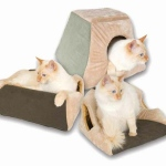 "K&H Pet Products Thermo Kitty Cabin Sage 16"" x 16"" x 13"""