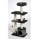 "MidWest Homes for Pets Catitude Tower: Black, 22"" x 15"" x 51"""