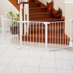 "Kidco Auto Close ConfigureGate Pet Gate White 84"" x 31"""