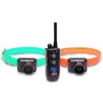 Dogtra Training and Beeper 1 Mile 2 Dog Remote Trainer Black / Orange
