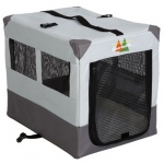 "Midwest Canine Camper Sportable Crate Gray 31"" x 21.50"" x 24"""