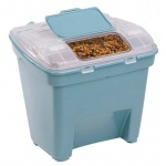 "Bergan Pet Food Smart Storage Large Blue 18"" x 20"" x 18"""