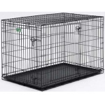 "Midwest Dog Double Door i-Crate Black 22"" x 13"" x 16"""