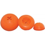 "StarMark Everlasting Bento Ball Medium Orange 3.5"" x 3"" x 3.5"""