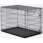 "Midwest Life Stages Single Door Dog Crate Black 30"" x 21"" x 24"""
