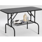 "Midwest Grooming Table Shelf Black 36"" x 16.5"""