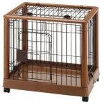 "Richell Mobile Pet Pen 640: Small, 25.2"" x 18.1"" x 22.4"""