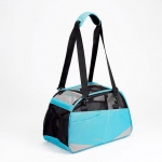 "Bergan Voyager Pet Carrier Medium / Large Air Blue 13"" x 19"" x 10"""