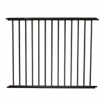 "Cardinal Gates VersaGate Hardware Mounted Pet Gate Extension Black 40"" x 30.5"""