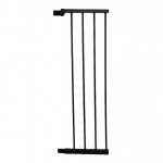 "Cardinal Gates Extra Tall Premium Pressure Pet Gate Extension Black 11"" x 2"" x 36"""