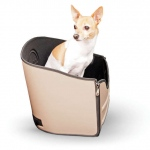 "K&H Pet Products Mod Pet Safety Seat Tan 15"" x 15"" x 15"""