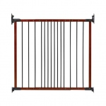 "Kidco Designer Angle Mount Wall Mounted Safeway Pet Gate Cherry 28"" - 42.5"" x 31"""