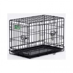 "Midwest Dog Double Door i-Crate Black 18"" x 12"" x 14"""
