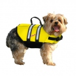 Pawz Pet Products Nylon Dog Life Jacket Large Yellow