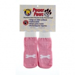"Woodrow Wear Power Paws Advanced Extra Extra Large Pink / White Bone 3.125"" - 3.5"" x 3.125"" - 3.5"""