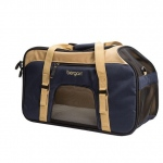 "Bergan Pet Top Opening Comfort Carrier Large Navy 19"" x 10"" x 13"""