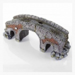 "BioBubble Decorative Old Stone Bridge Large 6"" x 5"" x 7"""