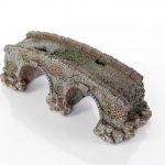 "BioBubble Decorative Old Stone Bridge Small 3.5"" x 3.5"" x 5"""