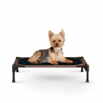 "K&H Pet Products Pet Cot Small Chocolate 17"" x 22"" x 7"""