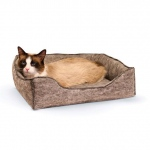 "K&H Pet Products Amazin' Kitty Lounge Sleeper Gray 13"" x 17"" x 3"""