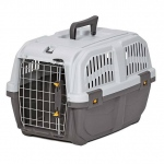 "Midwest Skudo Pet Travel Carrier Gray 18.75"" x 12.75"" x 12.75"""