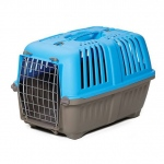 "Midwest Spree Plastic Pet Carrier Blue 18.875"" x 12.75"" x 12.75"""