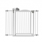"Richell One-Touch Pressure Pet Gate II White 32.1"" - 36.4"" x 2"" x 30.5"""