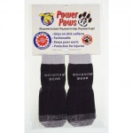 "Woodrow Wear Power Paws Grey Hound Reinforced Foot Large Black/Gray 1.75"" - 2.0"" x 2.5"" - 3.0"""