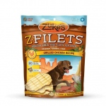 Zuke's Z-Filets Select Grain Free Dog Treat Grilled Chicken 3.25 oz.