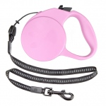 10-foot Pink Extra-Small Retractable Dog Leash