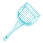 Turquoise Cat Litter Scoop with Reinforced Comfort Handle