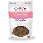 CARU Natural Salmon Recipe Soft 'N Tasty Bites for Dogs: 4.0 oz (113 G)