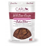 CARU Natural Wild Boar Recipe Soft 'N Tasty Bites for Dogs: 4.0 oz (113 G)